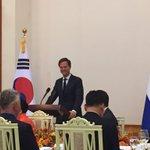Premier Rutte spreekt met Koreaanse President over verdere economische samenwerking.Economische topdiplomatie @MinBZ https://t.co/1IA9xPa5Ix
