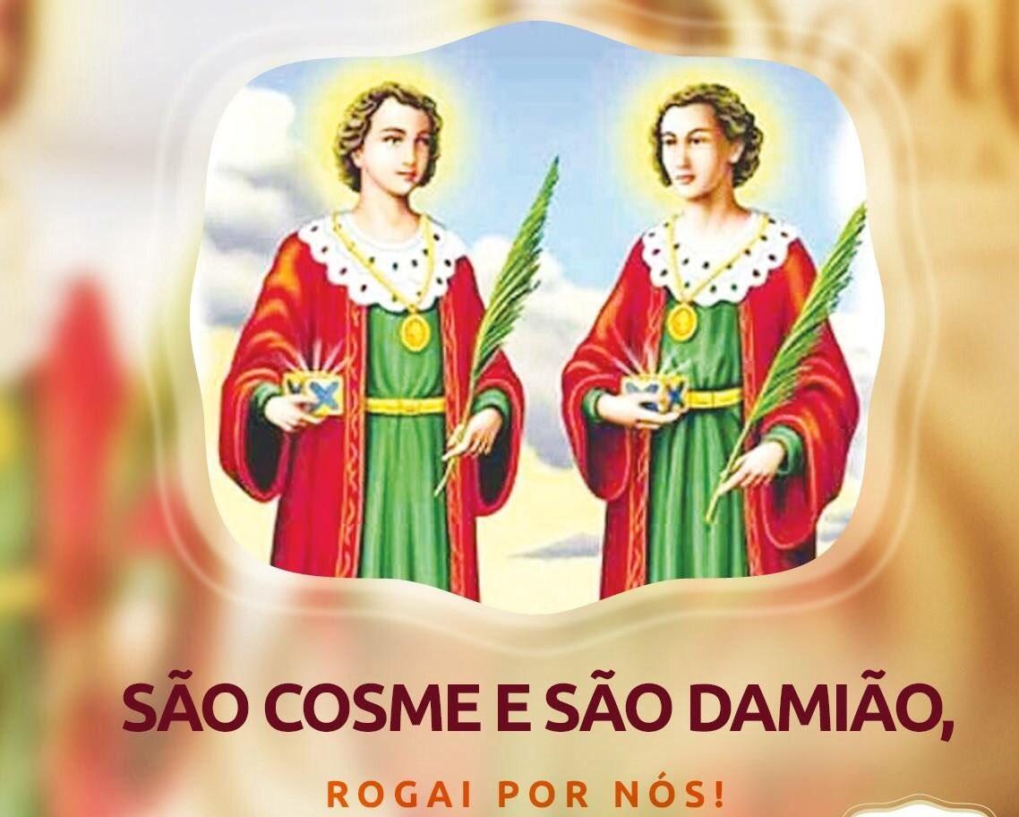 Salve São Cosme e São Damião