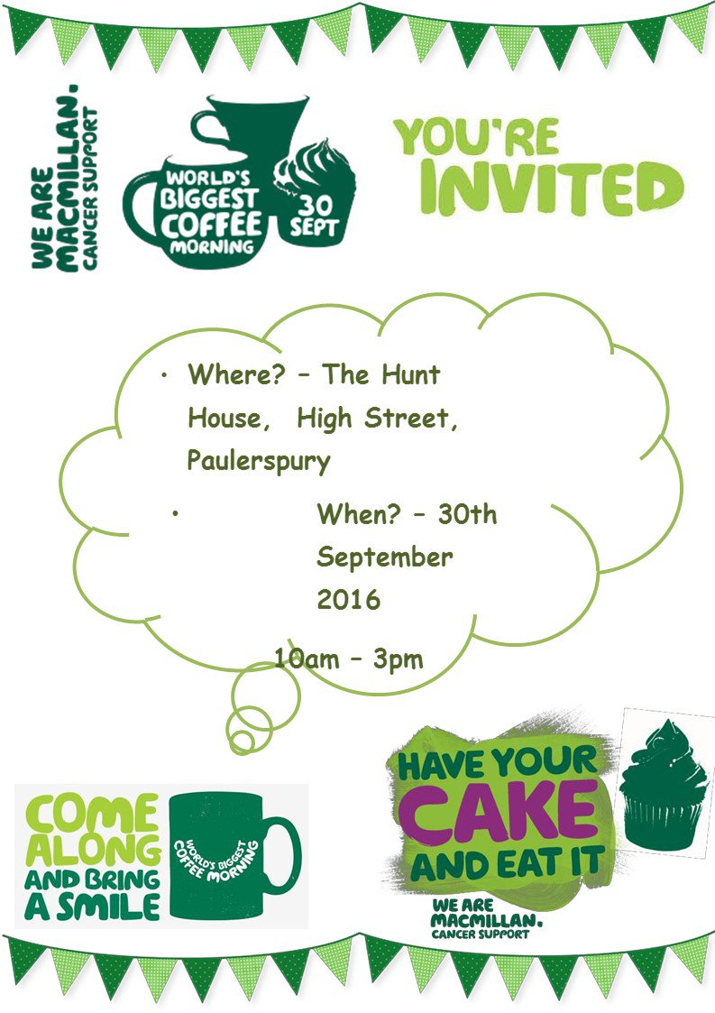 test Twitter Media - #Macmillan  #Coffee #Morning Friday Sept 30th - @HenryRoyceFound : https://t.co/8E7XRDbUz1 https://t.co/gY57mJbPnm