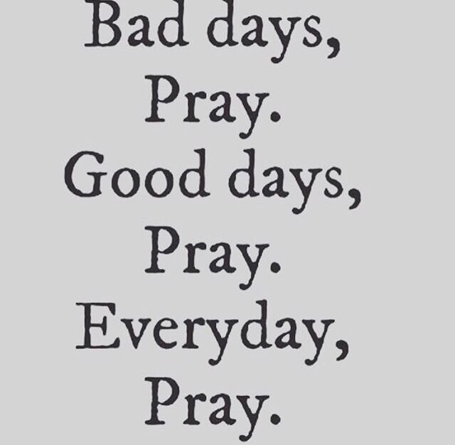 Stay prayed up fam! https://t.co