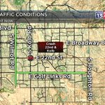 #CRASH: A new east side crash to watch for at 22nd/Kolb. Take Golf Links/Wilmot to avoid this one. #Tucson https://t.co/VnM3qv7ZPj