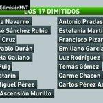 🔴 Los 17 miembros de la ejecutiva del PSOE que han dimitido #PSOEdimisiónMVT https://t.co/X6g4u6oWd3 https://t.co/ayiE2ptRcr