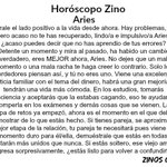 #HoróscopoZino #Aries https://t.co/n01Qz6GNkY