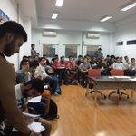 Imágenes del taller del @SafydeUEx  organizado por el PATT en @EPCC_Unex https://t.co/NSxUAabdhw