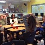 Start Naschoolsaanbod Schoolverlaters met 8 leerlingen! Ervaringen delen en van elkaar leren! Prachtige kans! https://t.co/a8u3D2nt9Q
