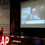 Exigen en @Elap_Ecuador fin del bloqueo criminal de #Estados Unidos contra #Cuba #ELAP2016 https://t.co/PfGsdHAyK3