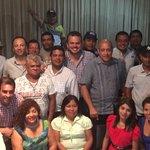 Mi respeto a los 70 delegados que han querido compartir hoy con #PRDequipoGanador #YosoyPRD https://t.co/uuWFCVCWGN