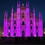 #Milano il Duomo si è tinto di rosa per la lotta contro il cancro al seno https://t.co/7Qz5mkkVpM