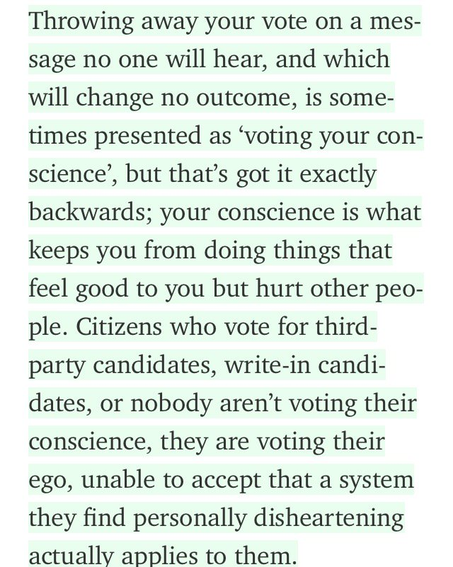 "Great piece. ""There's no such thing as a protest vote."" https://t.co/phDNwlFB7Q https://t.co/keDRVk4vIT"