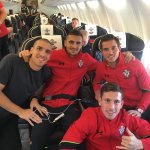 On our way back to England.  #SaintsFC #WeMarchOn https://t.co/9y2xVxuVyE