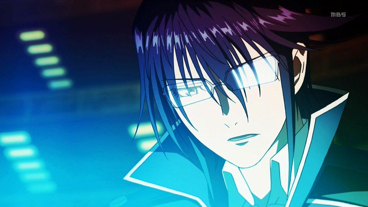 本日10月1日は「K」のセプター4室長。第四王権者「青の王」宗像礼司の誕生日。おめでとう♪#K #anime_k#宗像礼