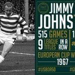 🦁 Jimmy Jinky Johnstone - the #GreatestEverCelt was born #OnThisDay... #Lisboa50 https://t.co/yPn8PasW05