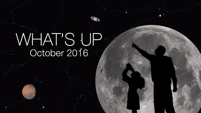 What's up for October? Find out what awesome things you can spot in the sky this month: https://t.co/uStbvjEiT2 https://t.co/eDL4RdQPXD