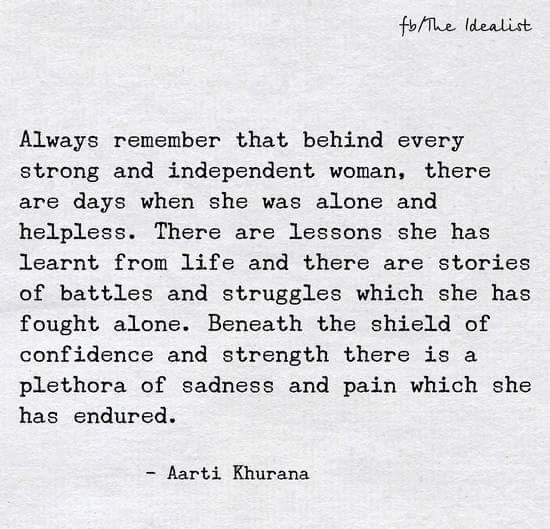 To the strong women❤️