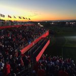 Good morning from the first tee of the #RyderCup. #GoUSA https://t.co/ec9BhVrm5e