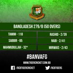 Is that enough for the @BCBtigers to clinch the series? The home side is on the verge of their 100th ODI win too! #BANvAFG #SeriesDecider https://t.co/BNBV5FMpKy