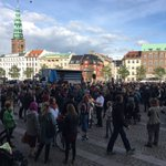 2 days notice + 1000 ppl = 45 minutes together AND 85.000 kr raised #SaveAleppo #Copenhagen #GlobalAction https://t.co/aNTunAH3gV