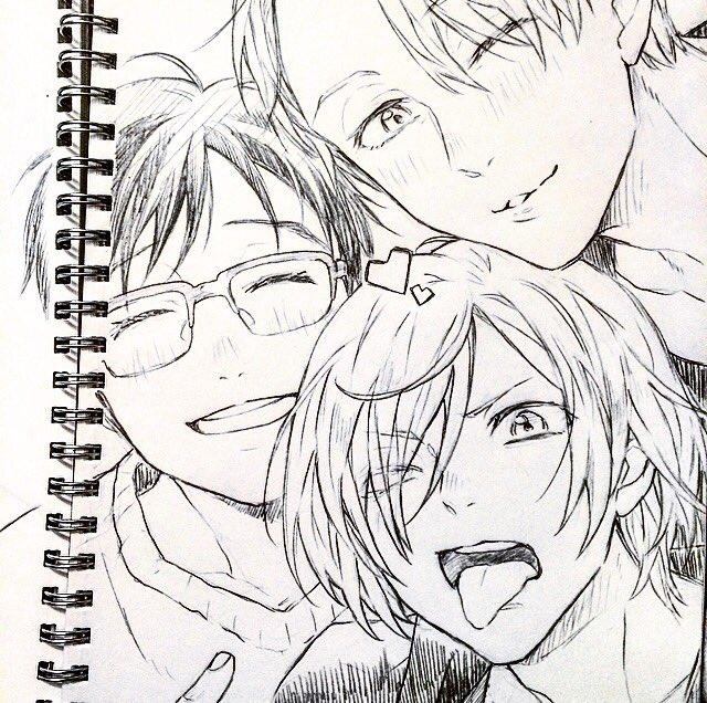 3人とも可愛いよ〜! ✨