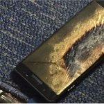 'Yenilenmiş' Samsung Galaxy Note 7 uçakta alev aldı