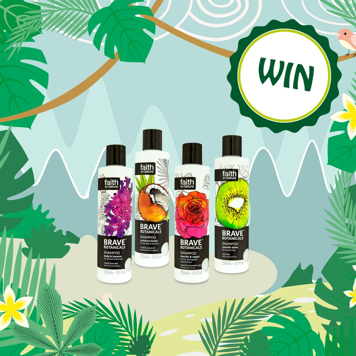 It's so hard to pick our fave @FaithInNature flavour! Let us know yours and you could win 1 of 3 shampoo bundles! https://t.co/19hZ8nbVMf
