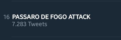 PASSARO DE FOGO ATTACK