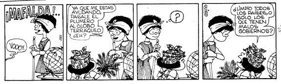 ¿Limpio todos los países, o solo los que tienen malos gobiernos? #MafaldaQuotes https://t.co/hnHPNY53bY