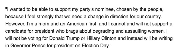 I will not vote for Donald Trump. Read my statement here: https://t.co/F8zajgDZpg