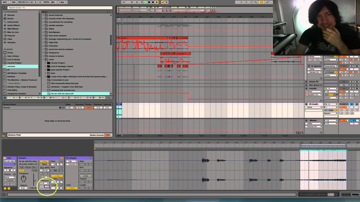 Ableton Tutorials: Stutter effect with Warp Settings - https://t.co/1rMkcRBHBp https://t.co/cPtFr501xH