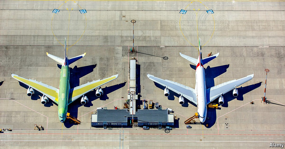 """.@Airbus, Europe's big planemaker, takes another short hop towards being a """"normal"""" firm"""