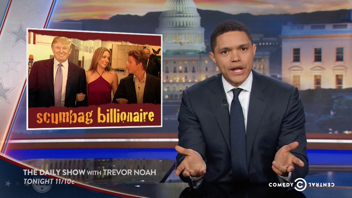 If you haven't watched this, you really should. Trevor Noah has convinced me he's worthy of Jon Stewart's chair. https://t.co/9gIhkNNrUh