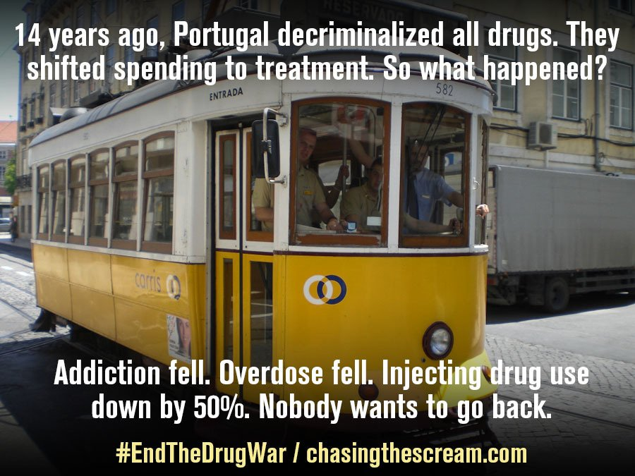 What happens when you decriminalize all drugs, and spend the money instead on turning people's lives around? This: https://t.co/dUNGUGfb6S