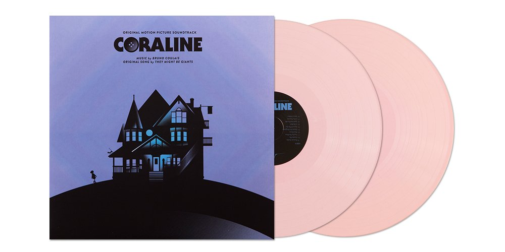 Coraline (2LP) by Bruno Coulais on NC Exclusive Pink Palace Vinyl - LTD/300 - - > https://t.co/979l8YMSYz https://t.co/Y4xAnbEZHp