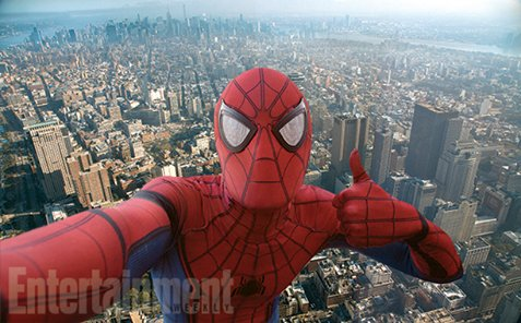 Spider-Man: Homecoming | Herói tira uma selfie em nova imagem oficial dofilme https://t.co/h3r9spcVe4 https://t.co/cXLYAhewu3