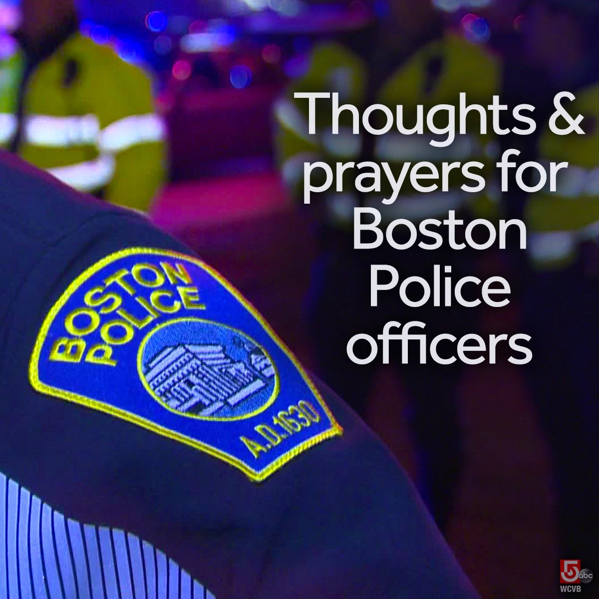 "#BPD commissioner Evans asks everyone to ""Please pray for our officers.""  #EastBoston @bostonpolice https://t.co/VucwlsTusT"