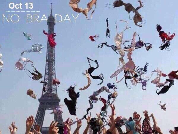 #NoBraDay: No Bra Day