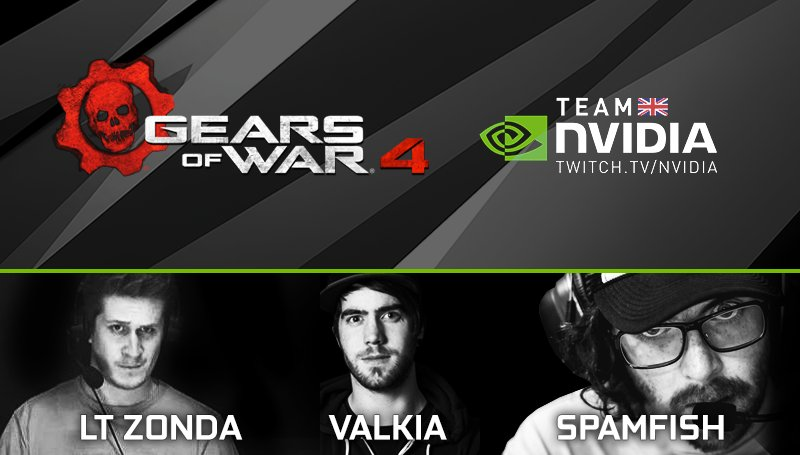 Our @GearsofWar 4 Horde Mode stream is live! RT for a chance to win a GeForce GTX 1080! https://t.co/hwuKZ0lY9I https://t.co/DVbeFcfkIK