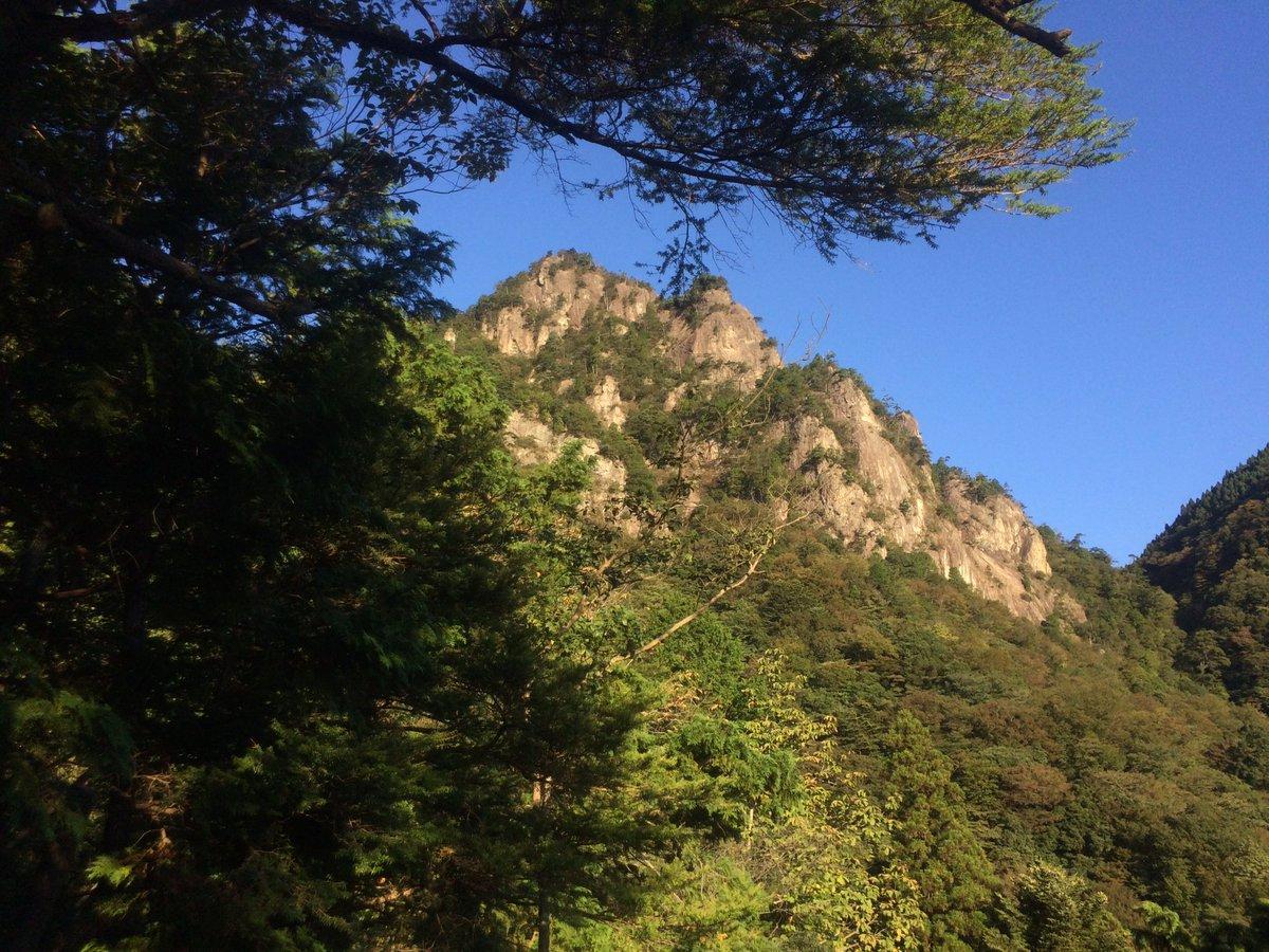 約半年振りの山じゃあああああ雪彦山(915.2m)制覇!めっちゃ晴れてて気持ちの良い登山でした!#yamanosusum