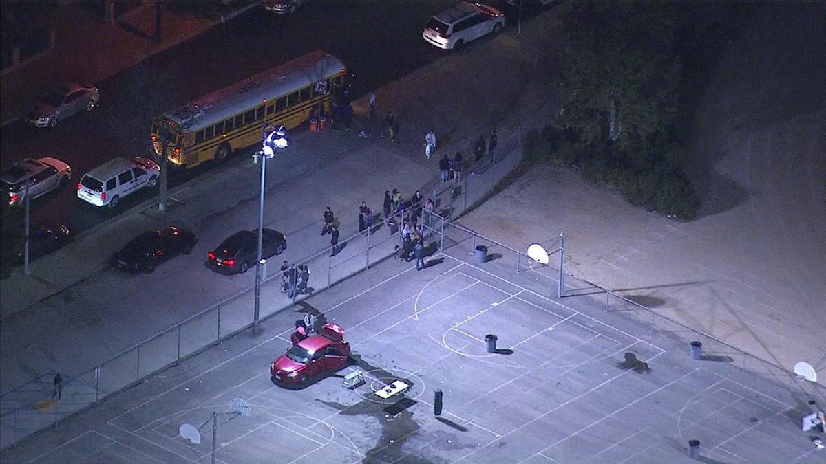 Report Of Shots Fired At Arleta High School Believed To Actually Be