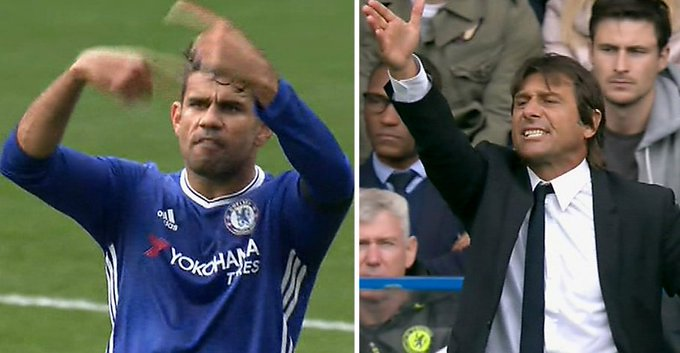 Costa warned to show respect to Chelsea boss Conte – reports