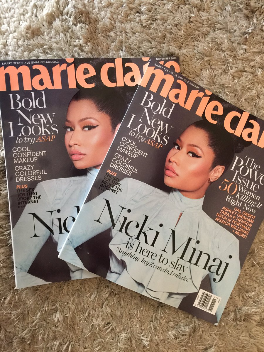 RT @marios_minaj: OH MY GOD I GOT THIS PERFECT MAGAZINE ???????????? Queen look ????????????????@NICKIMINAJ https://t.co/rQ3ZJdjGIf