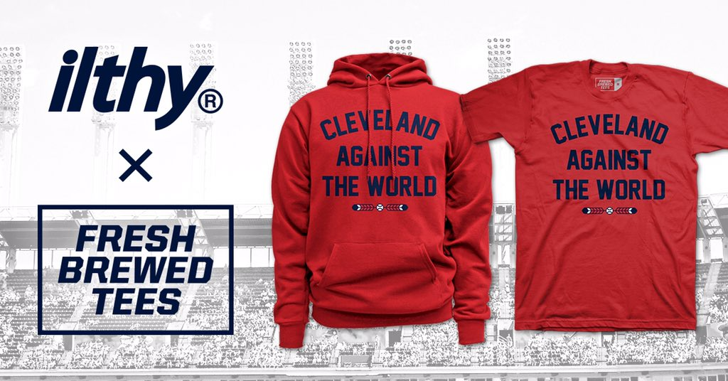 RETWEET for a chance to win a #ClevelandAgainstTheWorld tee! #WorldSeries #RallyTogether #DefendTheJake https://t.co/bYiwK6W4hB