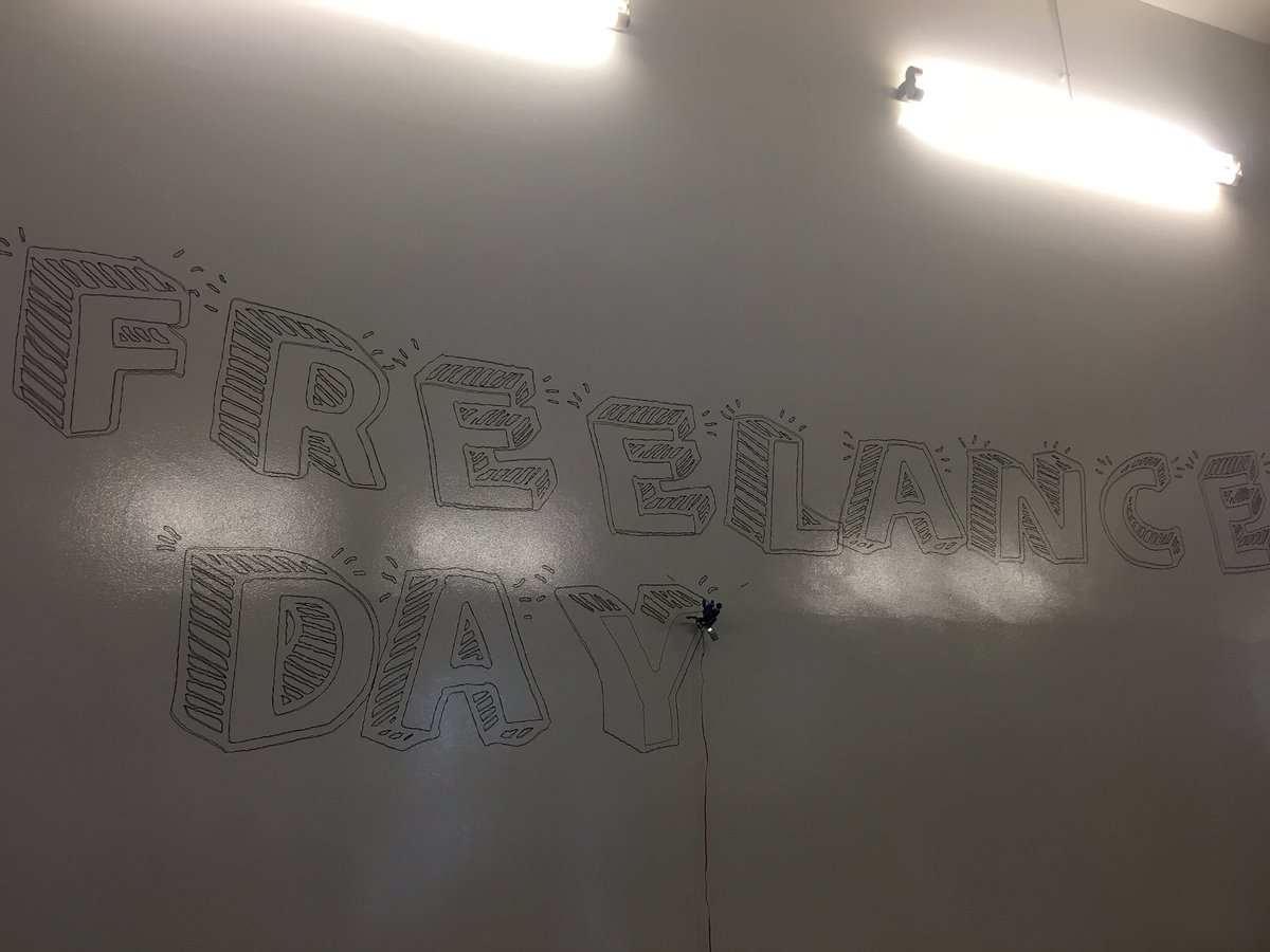 #freelanceday