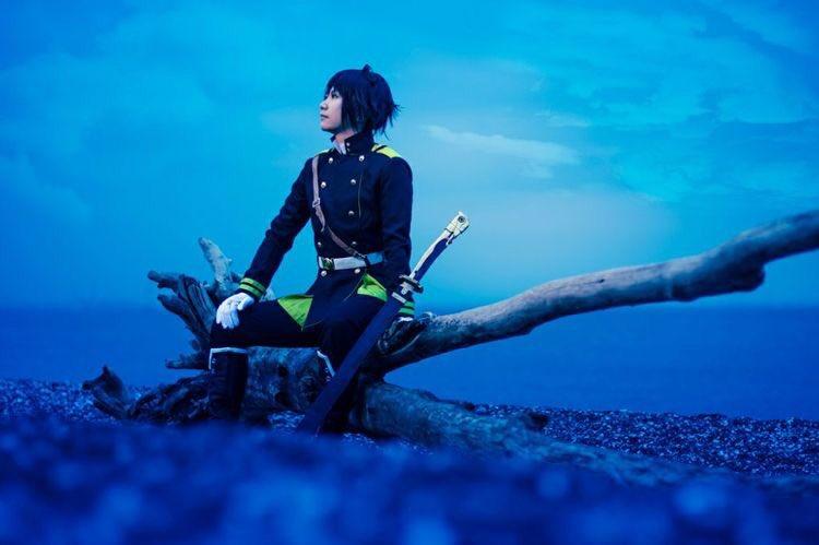 【コス注意】終わりのセラフ百夜優一郎 君月士方 撮影 #終わりのセラフ