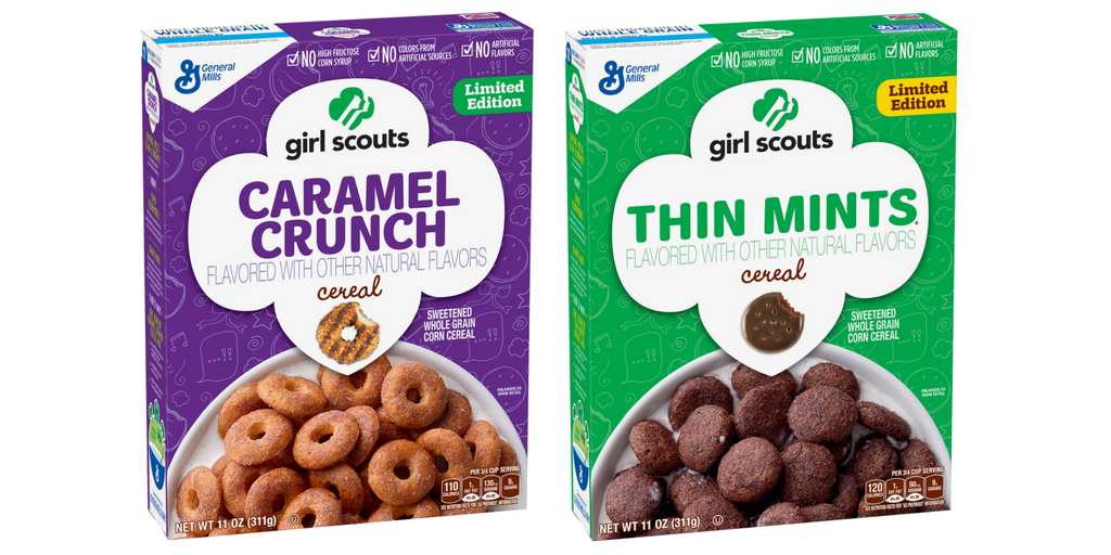 Yes, it's true! Girl Scouts Cookie cereals will hit U.S. stores in January. We'll share more details soon! https://t.co/sVHprf6bzc