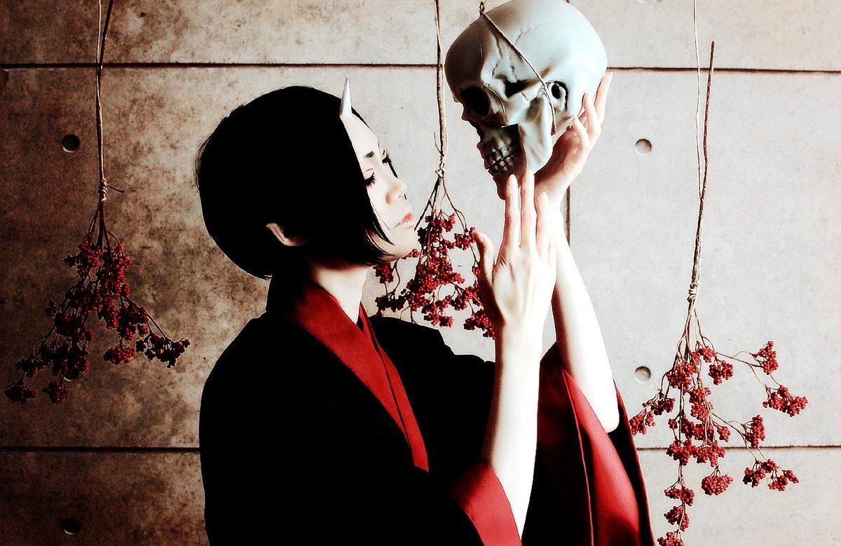 cosplay:鬼灯の冷徹:眼下に据えるは獄楽か鬼灯:sakura*Studio: