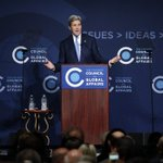 To applause and boos, Kerry urges Congress to ratify Pacific trade pact