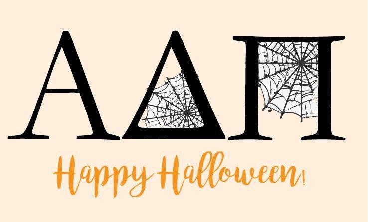 Happy Halloween from Alpha Delta Pi!