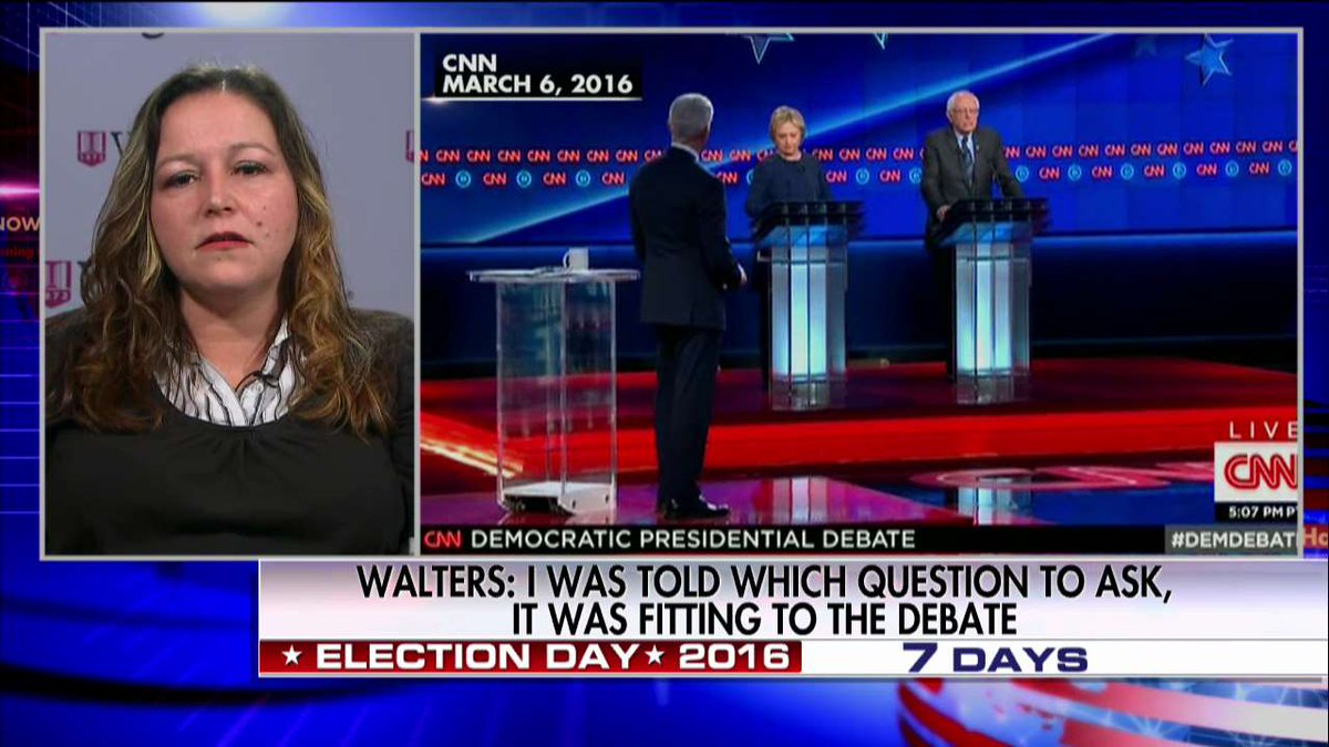 Flint Woman Whose Question Leaked to Hillary: 'She Should Be Disqualified' @JennaLeeUSA @HappeningNow https://t.co/GFTigjFakE
