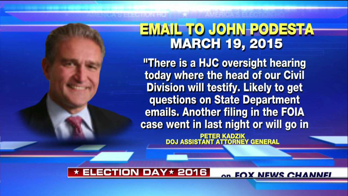 New WikiLeaks Release: DOJ Official's 'Heads Up' to Podesta #podestaemails26 @edhenry https://t.co/eXZLRSn9Bq