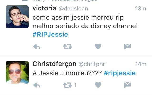 #RIPJessie: RIP Jessie
